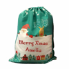 Picture of Green Christmas Sack