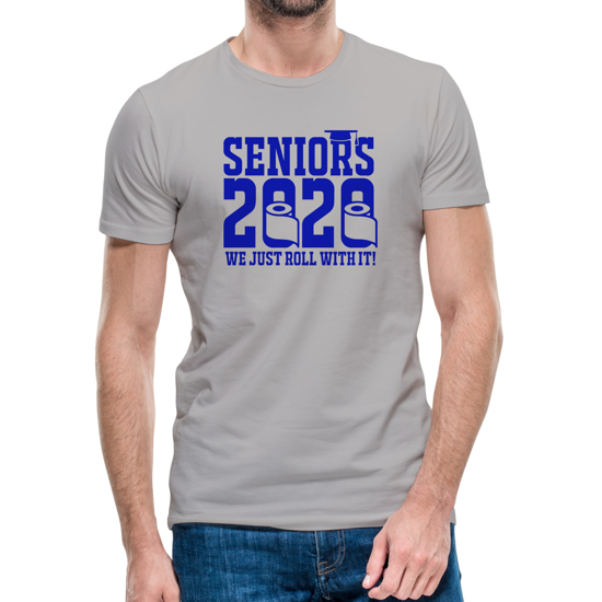 Picture of Seniors - Just Roll With It T-shirt