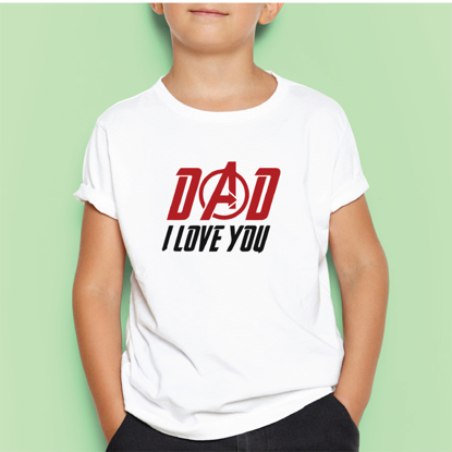 Picture of Dad I Love You Kids T-shirt