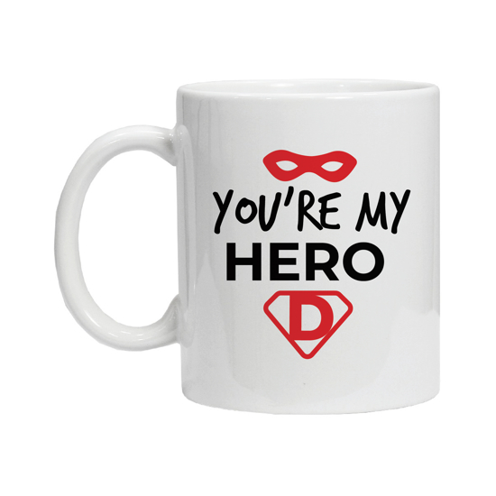 Picture of You are my Hero Dad Mug