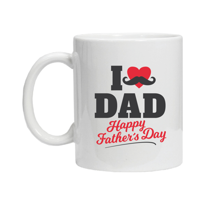 Picture of I Love Dad - Happy Father's Day Mug