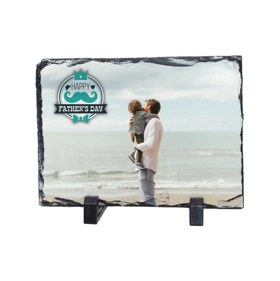 Picture of Happy Father's Day Photo Slate