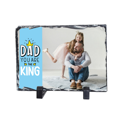 Picture of Dad You Are The King Photo Slate