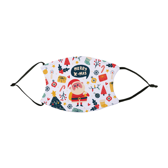 Picture of Merry Christmas Pattern Face Mask