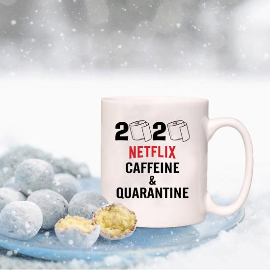 Picture of 2020 Netflix, Caffeine & Quarantine Mug
