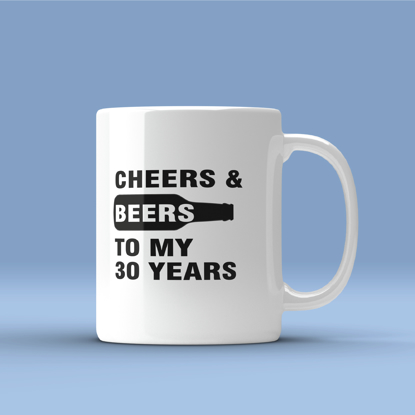 Picture of Cheers & Beers to My Age Years Mug