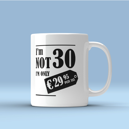 Picture of I Am Not Age Mug