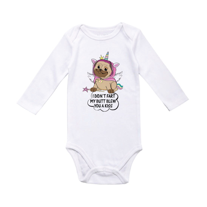Picture of I Didn't Fart, My Butt Blew You A Kiss Baby Bodysuit