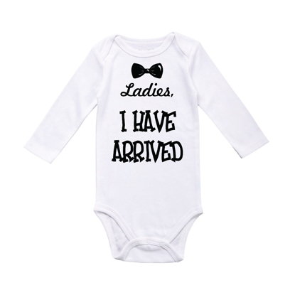 Picture of Ladies I Have Arrived Baby Bodysuit