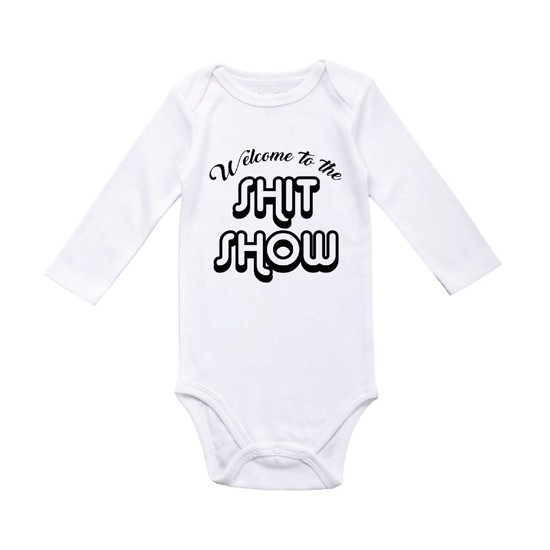 Picture of Welcome to the Shit Show Baby Bodysuit