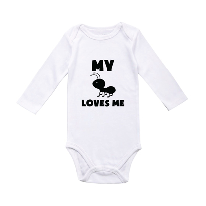Picture of My Aunt Loves Me Baby Bodysuit
