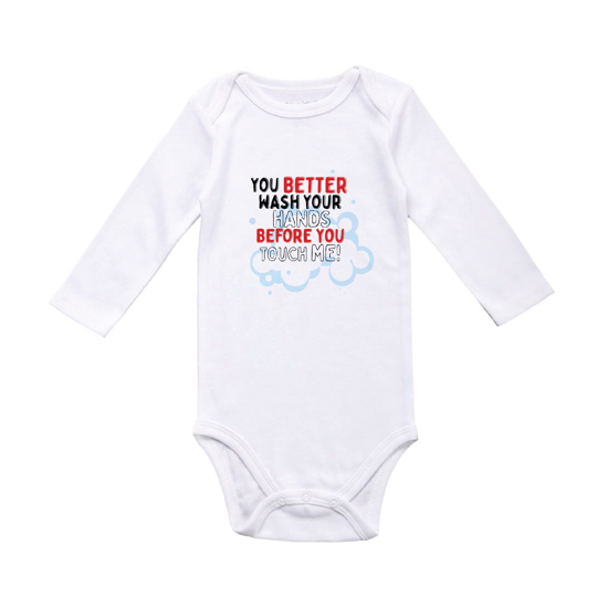 Picture of Better Wash Your Hands Baby Bodysuit