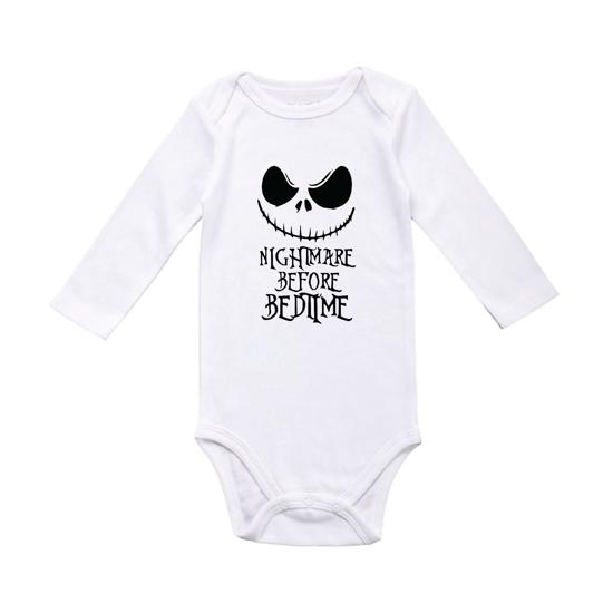 Picture of Nightmare Before Bedtime Baby Bodysuit