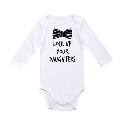 Picture of Lock Up Your Daughters Baby Bodysuit