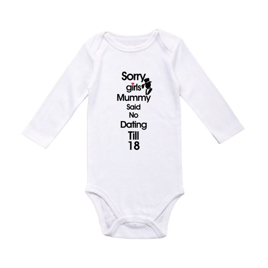 Picture of No Dating Till 18 Baby Bodysuit