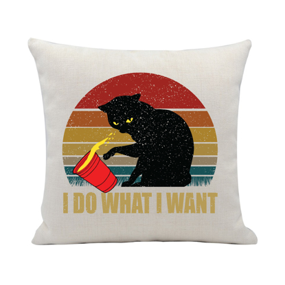 Picture of I Do What I Want Pillow