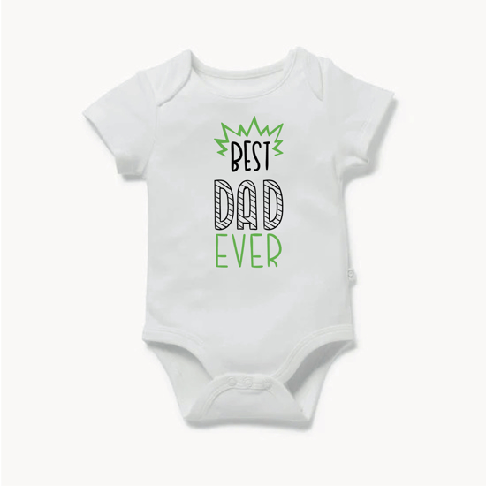 Picture of Best Dad Ever Baby Bodysuit