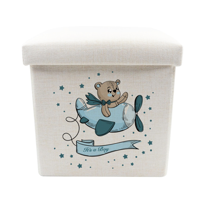 Picture of It's a Boy Toy Box - Storage Stool