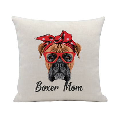 Picture of Boxer Mum Pillow