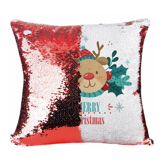 Picture of Merry Christmas Red Magic Pillow