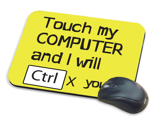 Picture of Touch My Computer Mousepad