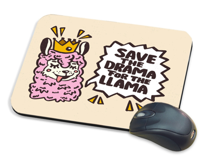 Picture of Save the Drama For The Llama Mousepad