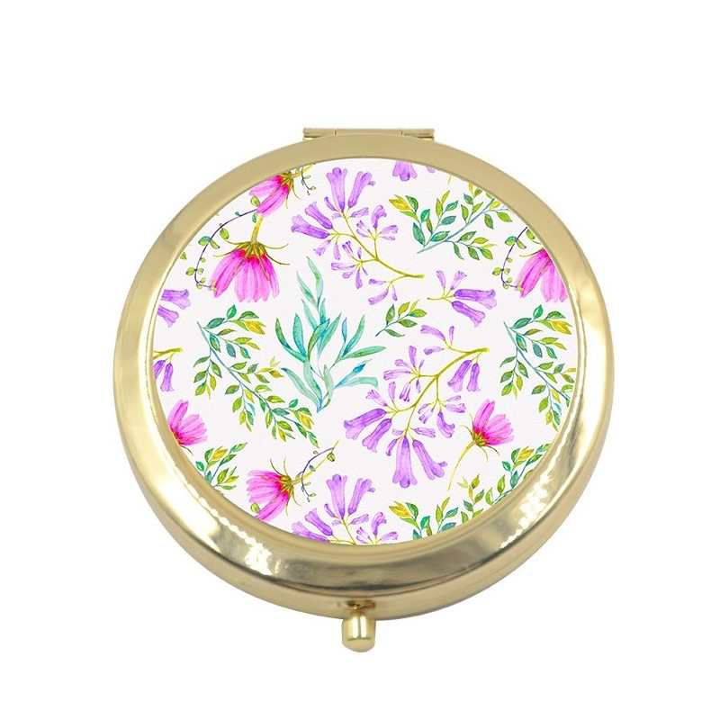 Picture of Gold Round Mirror