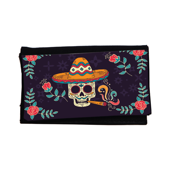 Picture of Mexican Skull Tobacco Pouch