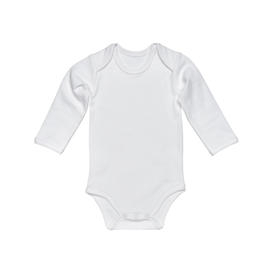 Picture of Long-Sleeve Baby Bodysuit