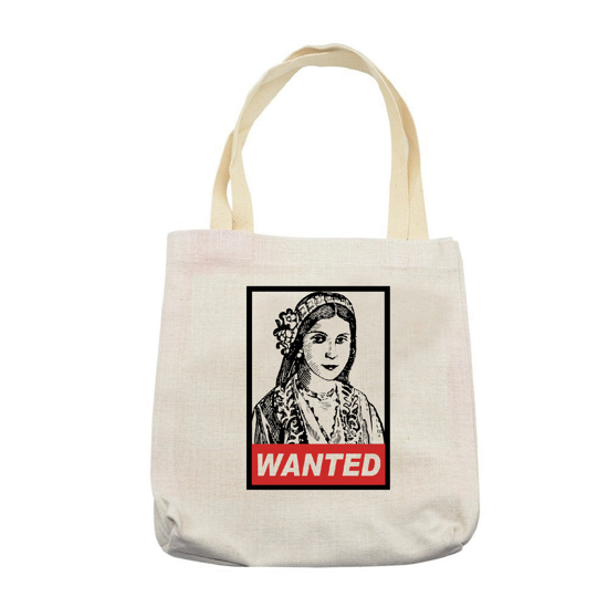 Picture of Cyprus Pound Wanted Tote Bag