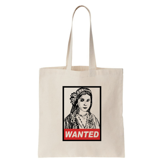 Picture of Cyprus Pound Wanted Tote Bag (Thin)