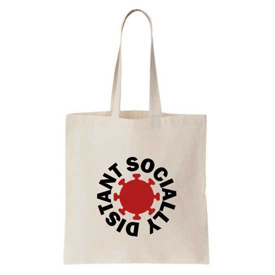 Picture of Socially Distant Tote Bag (Thin)