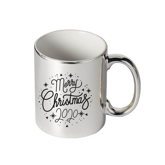 Picture of Merry Christmas 2020 Silver Mug