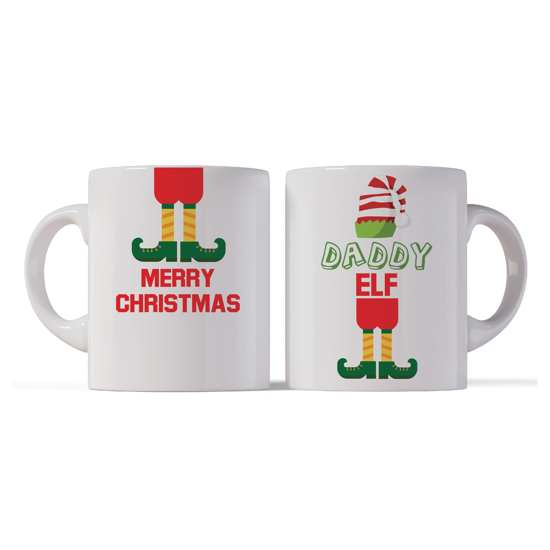 Picture of Merry Christmas Daddy Elf Mug