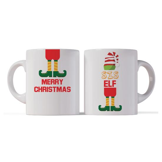 Picture of Merry Christmas Sis Elf Mug