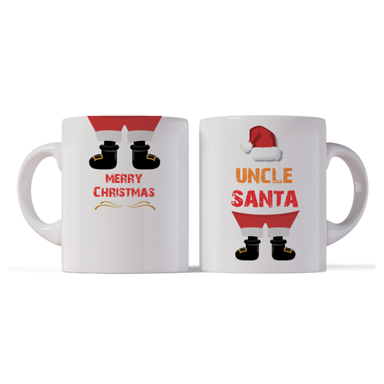 Picture of Merry Christmas Uncle Santa Mug