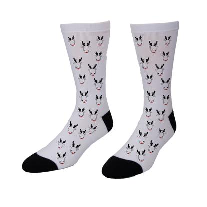 Picture of Christmas Reindeer Socks