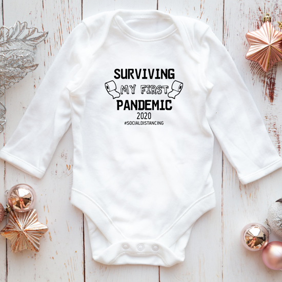 Picture of Surviving My First Pandemic Baby Bodysuit