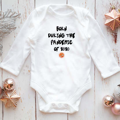 Picture of Born During The Pandemic Baby Bodysuit