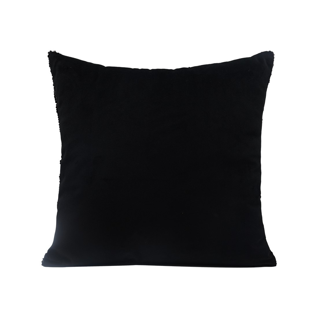 Picture of Black Sequin Square Pillow