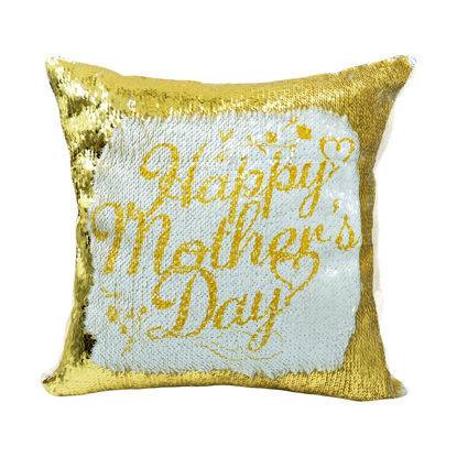 Picture of Gold Sequin Square Pillow