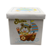 Picture of Linen Toy Box - Storage Stool