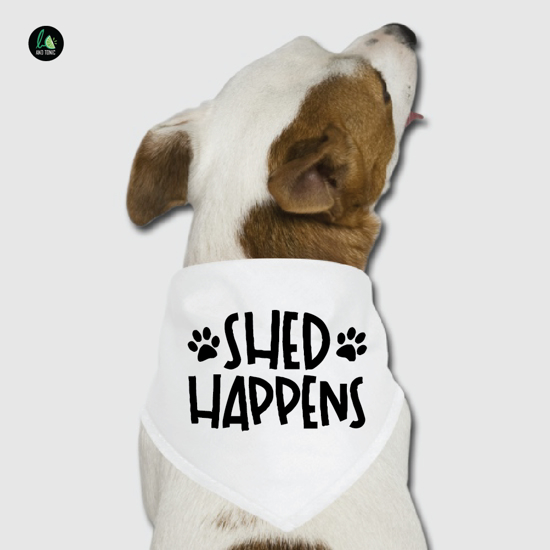 Picture of Shed Happens Pet Bandana