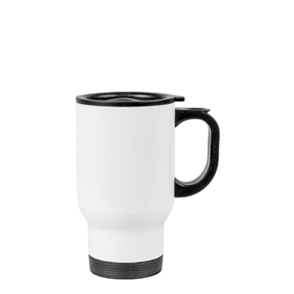 Picture of White Tumbler With Handle
