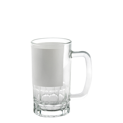 Picture of Clear with Patch Beer Glass