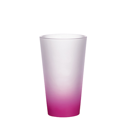 Picture of Purple Frosted Latte Glass Mug