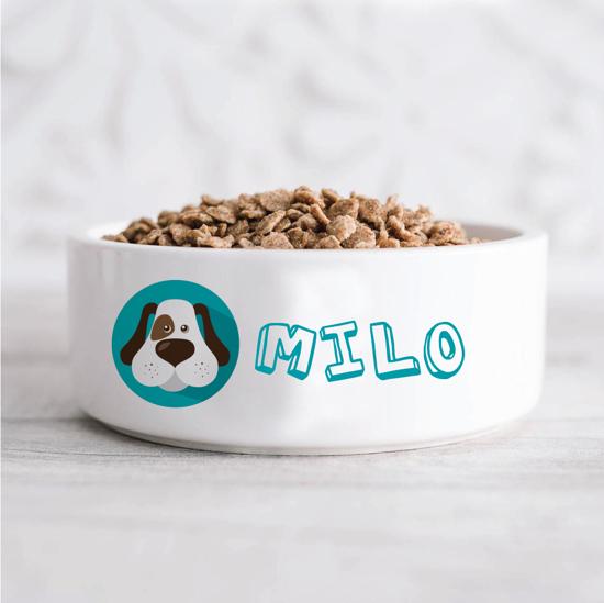 Picture of Pet Face/Figure Pet Bowl