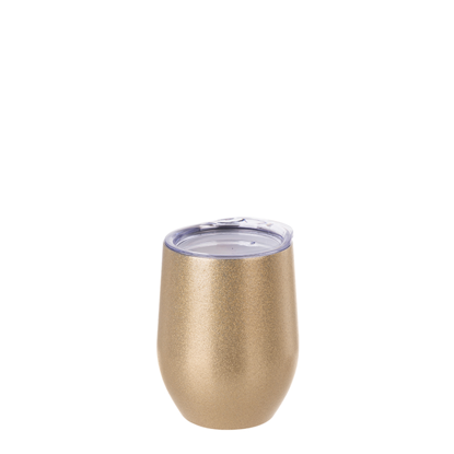 Picture of Gold Glitter Stemless Wine Cup