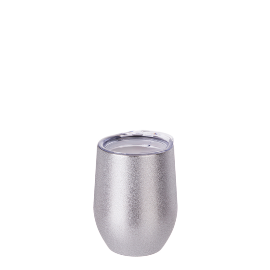 Picture of Silver Glitter Stemless Wine Cup