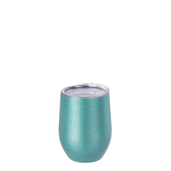 Picture of Blue Glitter Stemless Wine Cup